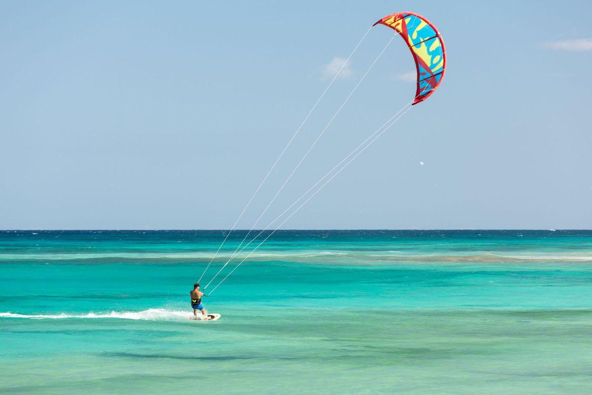 2 heures de cours de kitesurf particulier