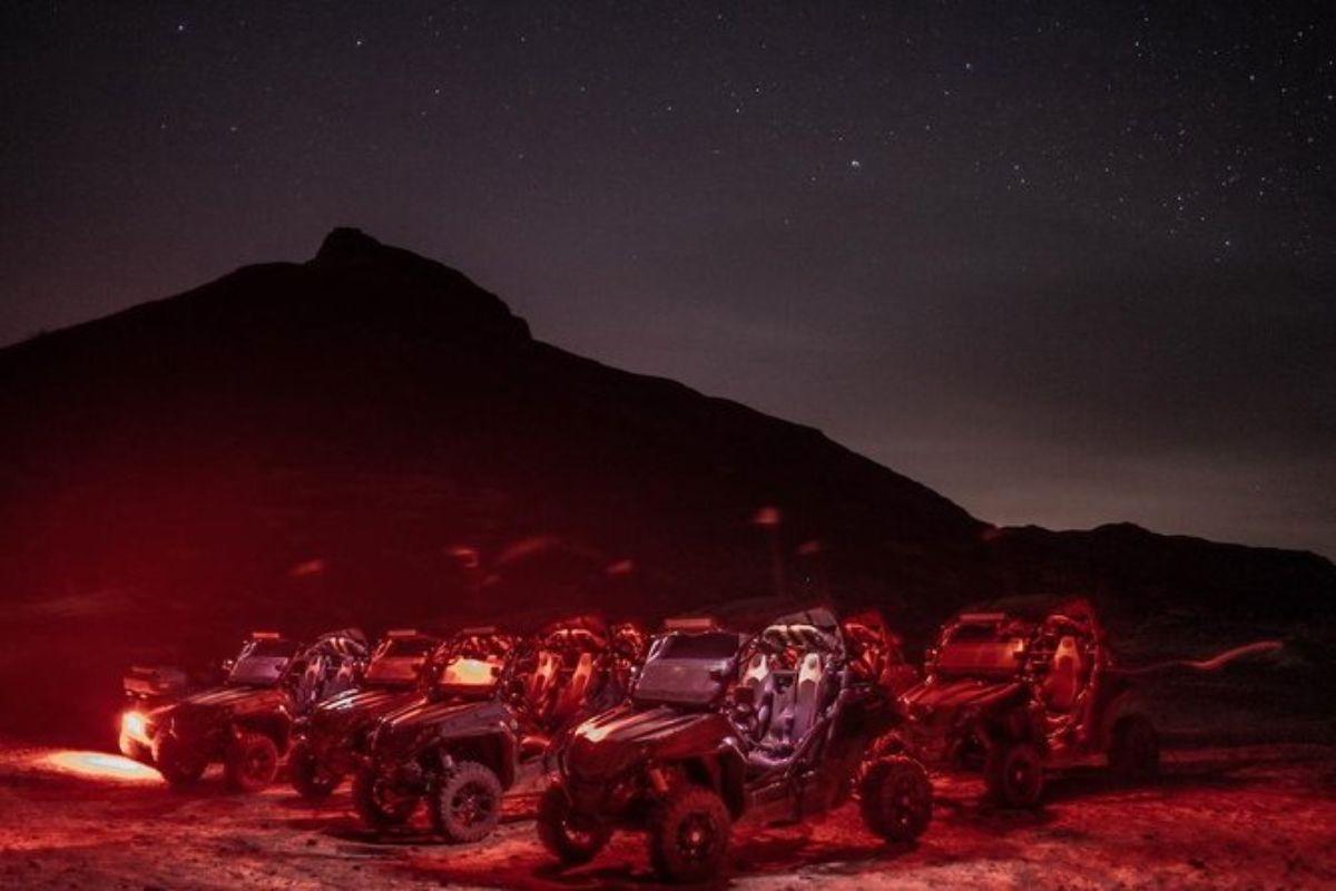 Aventure nocturne en buggy au départ de Santa Maria