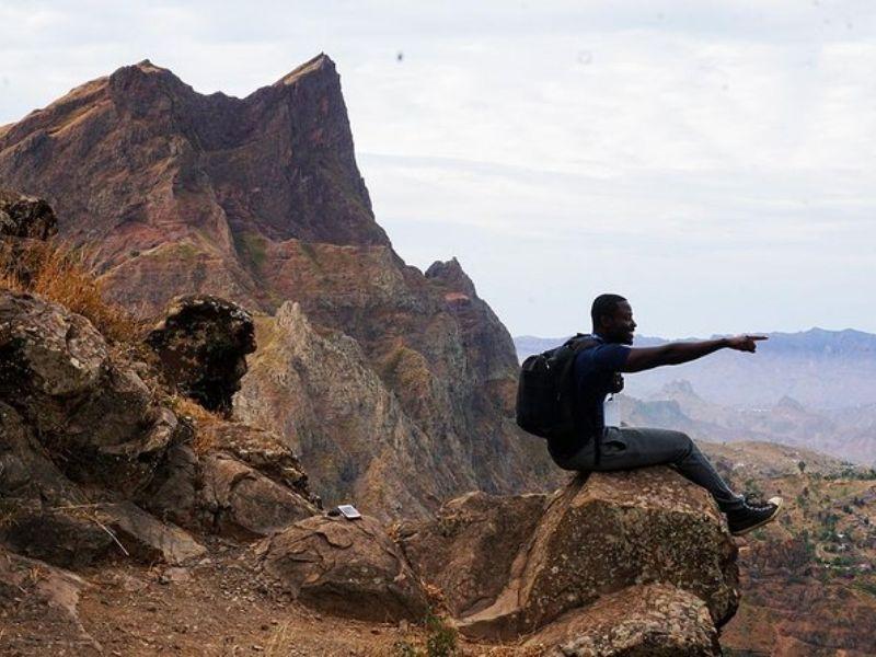 Trekking: Parc Naturel de Monte Tchota à Pico d'Antónia (la plus haute montagne)