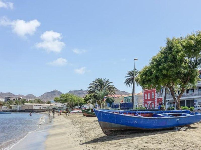 Visite d'une demi-journée de l'île de Sao Vicente