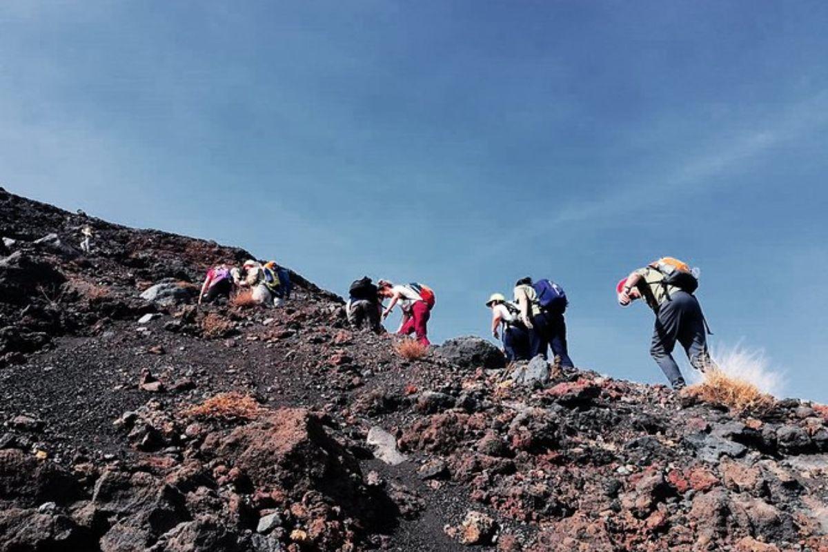 Île Fogo: Randonnée jusqu'au sommet du Vulcano (2829 m)